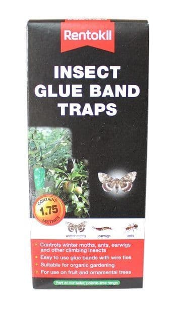 Rentokil Insect Glue Band Traps - 1.75m